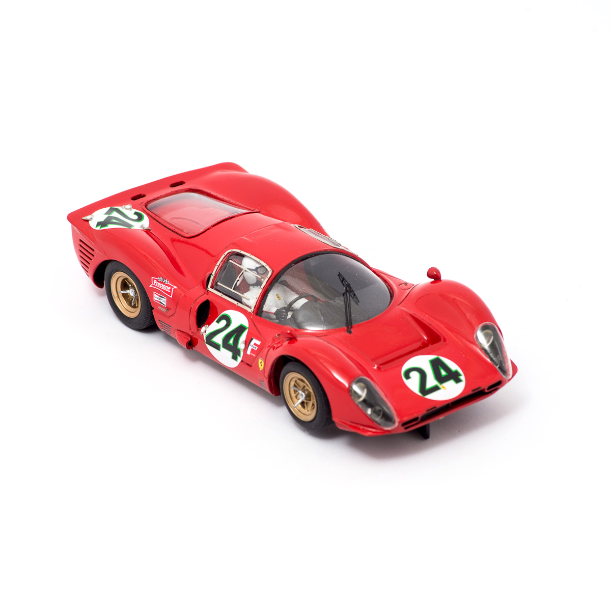 Slot Car Ferrari 330 P4 Coupè #24 Scarfiotti/Parkes 1:24