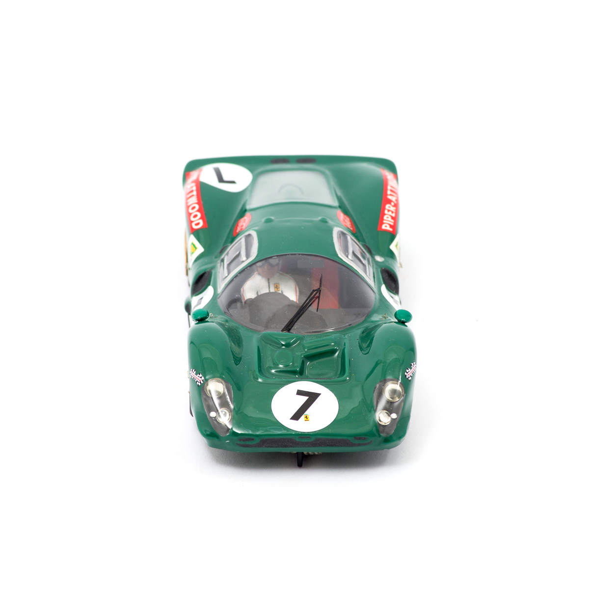 Slot Car Ferrari 412 P #7 Piper/Atwood 1:24