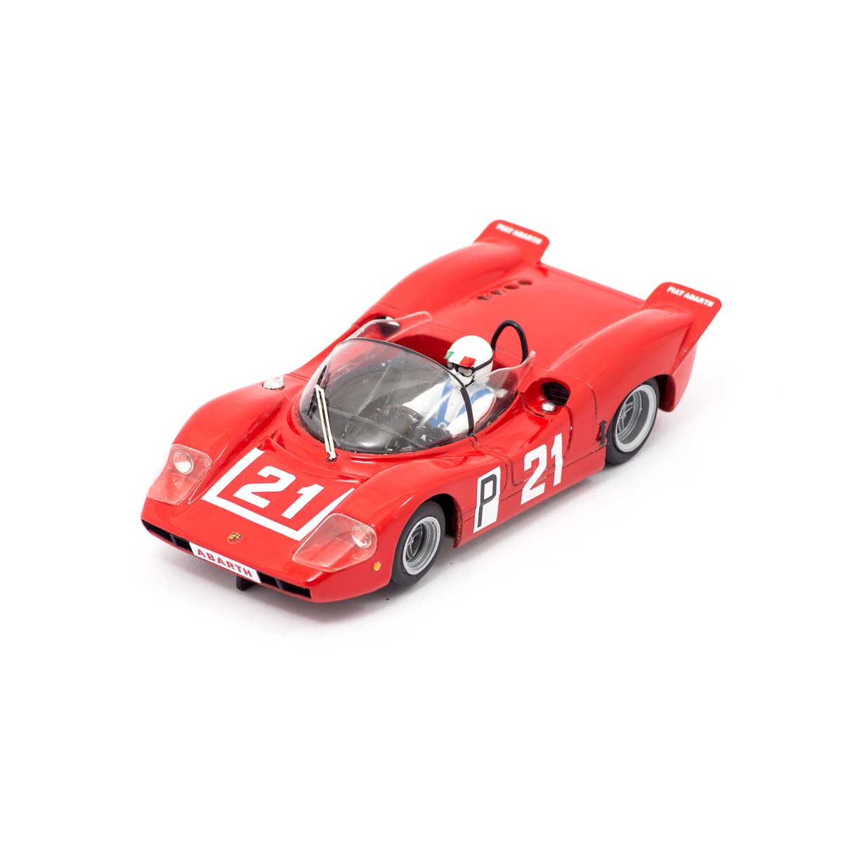 Slot Car Fiat Abarth 2000 SP #21 Merzario 1:24