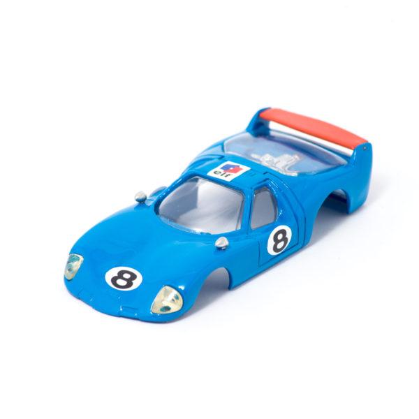 Carrozzeria Slot Car BRE Samurai 1/32 Azzurro/Arancio per Policar
