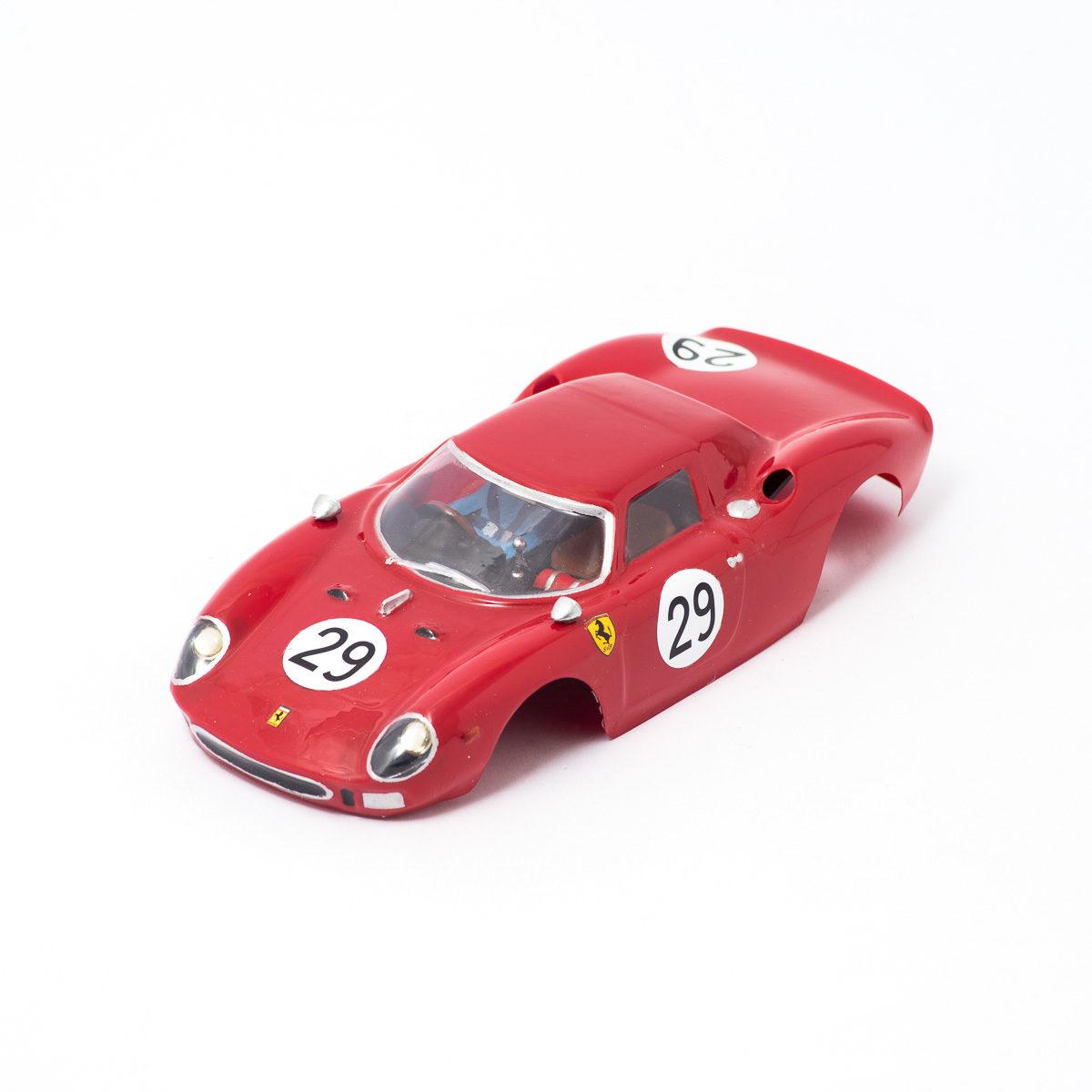 Slot Car Body Ferrari 250 LM 1964 1/24
