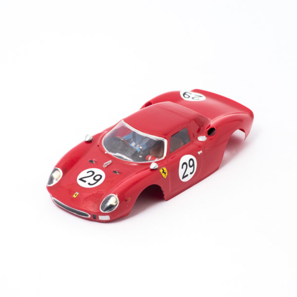 Slot Car Body Ferrari 250 LM 1964 1/24