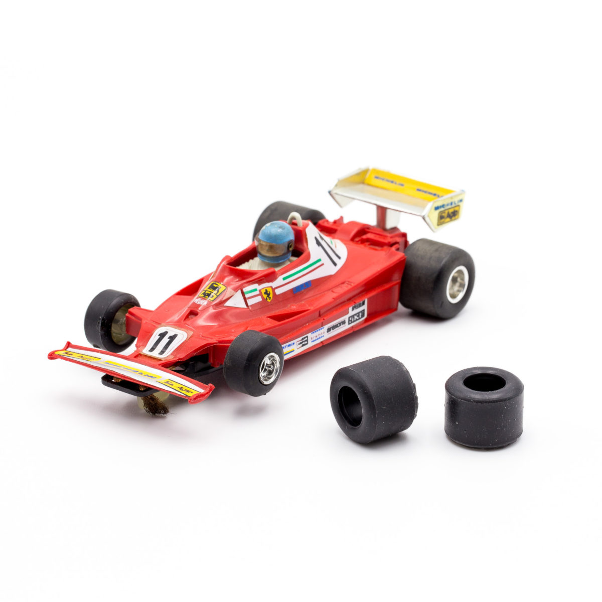 Rear Slot Car Tires for Polistil F1 Champion 175 1:32