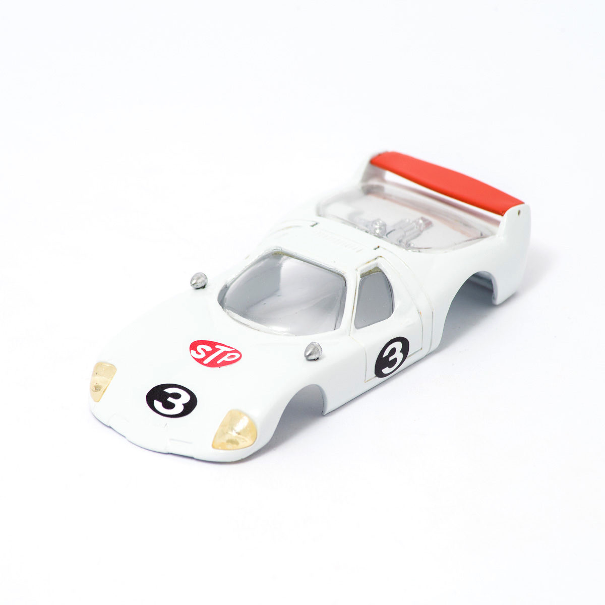 Slot Car Body BRE Samurai 1/32 white/red