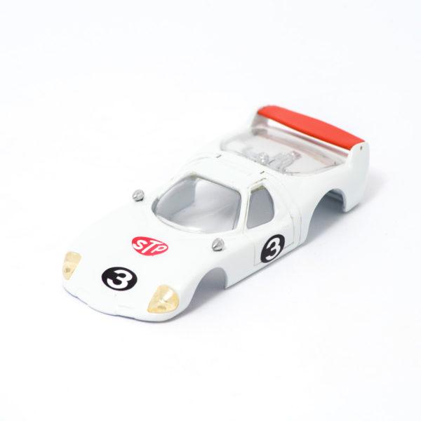 Slot Car Body BRE Samurai 1/32white/red