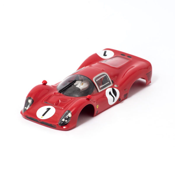 Slot Car Body Ferrari 330 P3 Coupè 1/24 1966