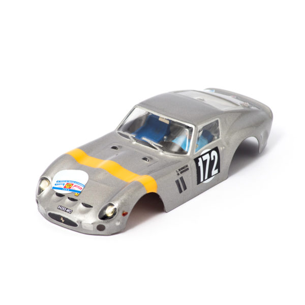 Slot Car Body Ferrari 250 GTO 1962 1/24