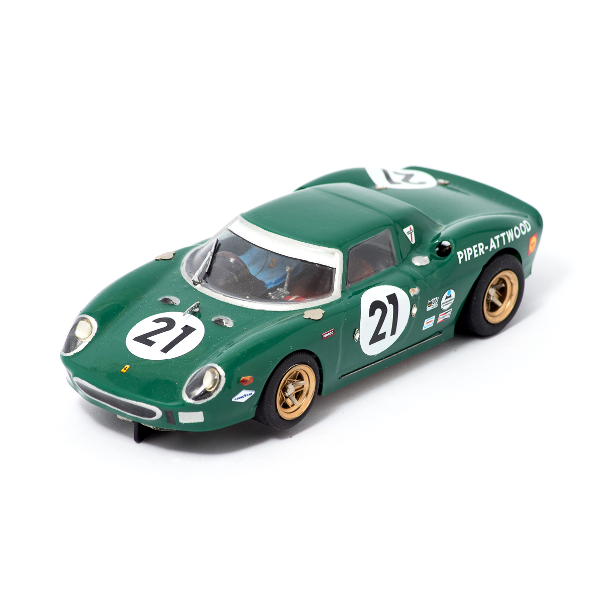 Slot Car Ferrari 250 LM #21 1964 Piper/Atwood 1:24