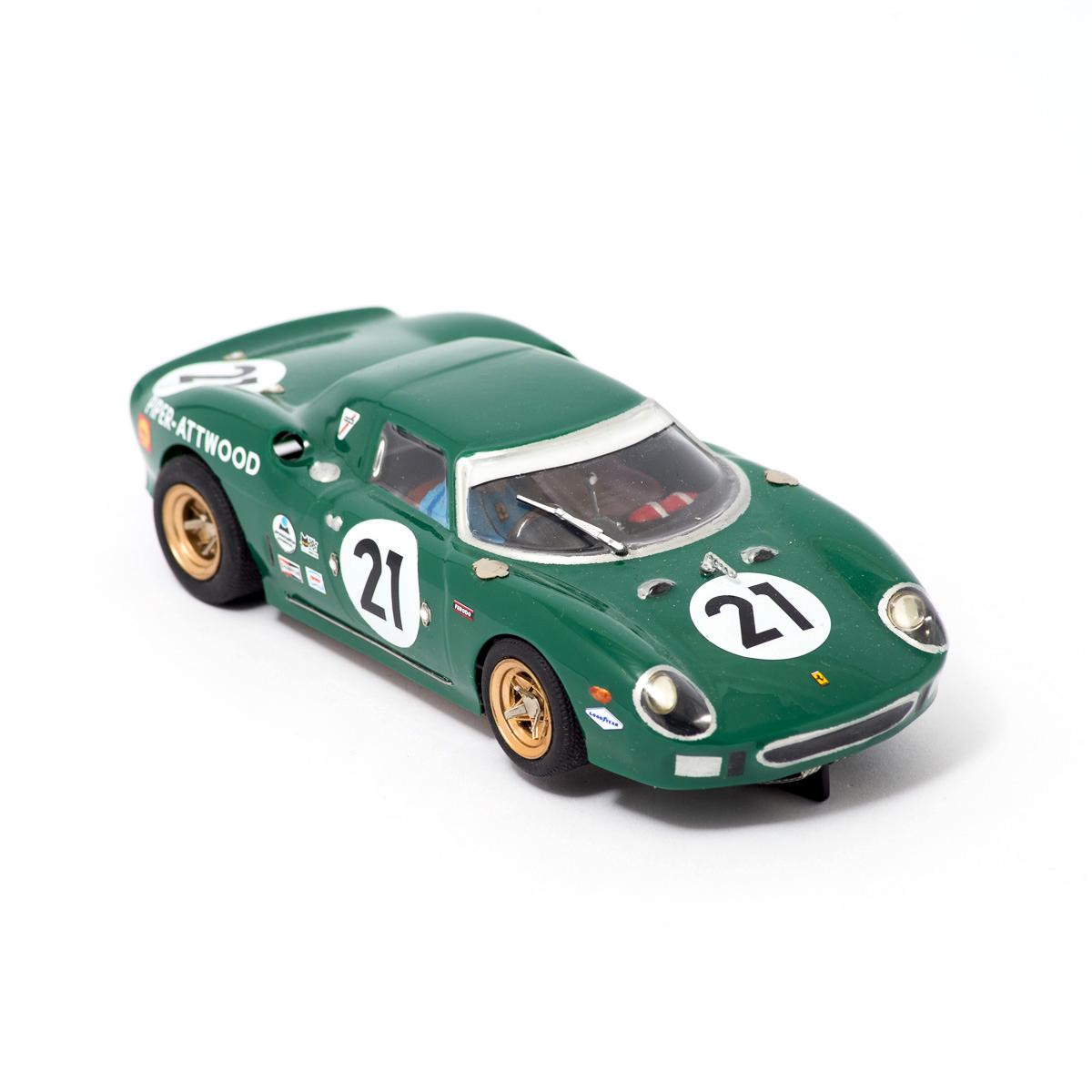 Slot Car Ferrari 250 LM #21 1964 Piper/Atwood 1:24