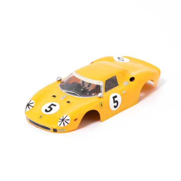 Slot Car Body Ferrari 250 LM 1/24 1964 Ecurie Francorchamps