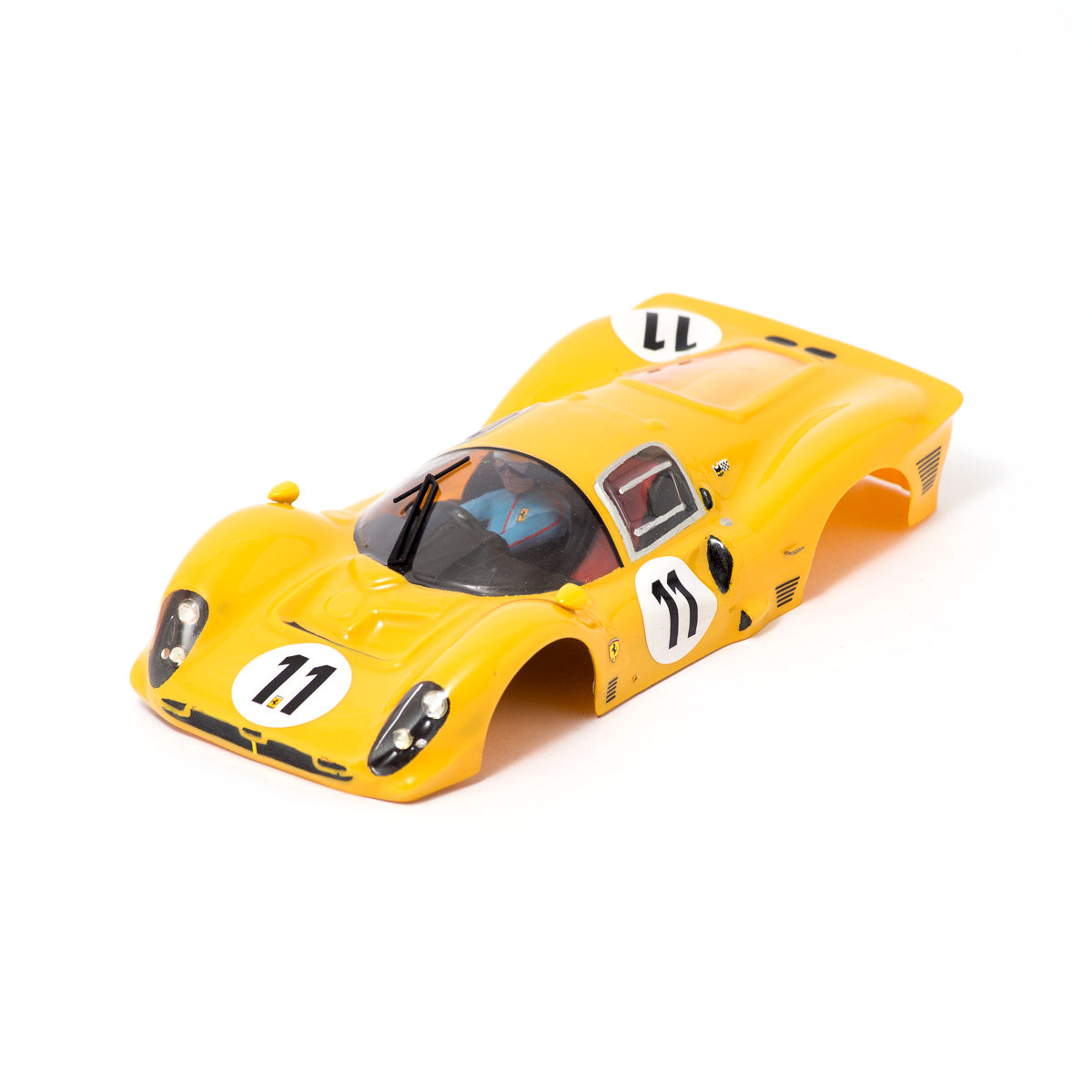 Slot Car Body Ferrari 412P 1967 1/24 Ecurie Francorchamps