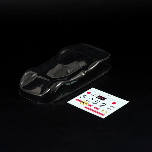 Carrozzeria Slot Car Ferrari 330 P3 1/24 Trasparente per Policar Super