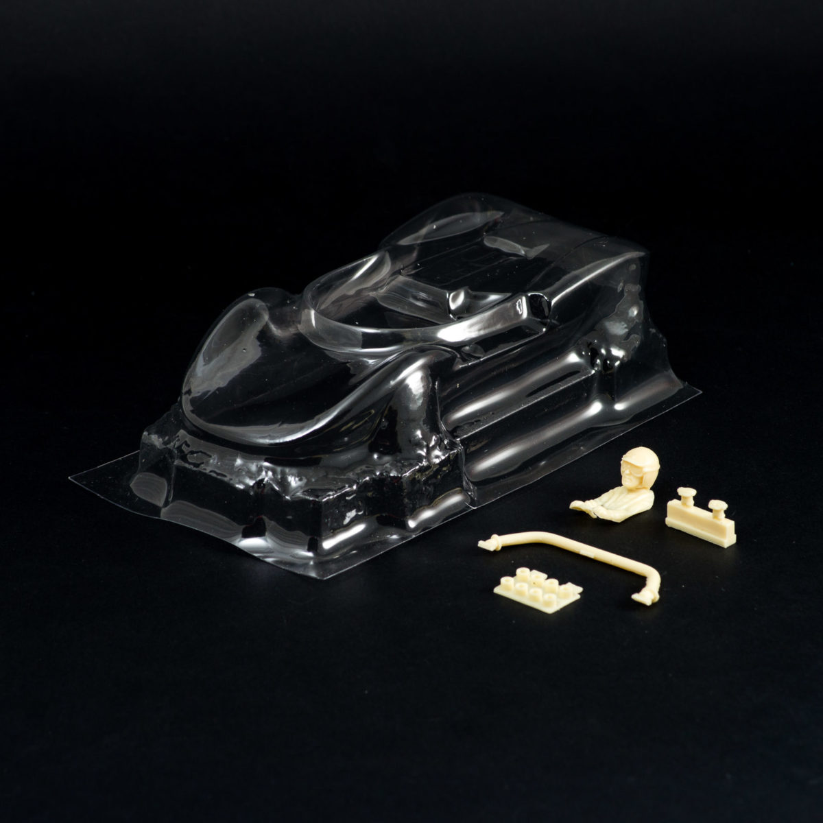 Carrozzeria Slot Car Cucaracha 1/24 Trasparente Replica COX
