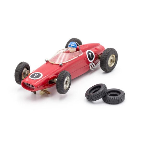 Front Slot Car Tires for F1 Steering Wheels 60s Policar 1:32
