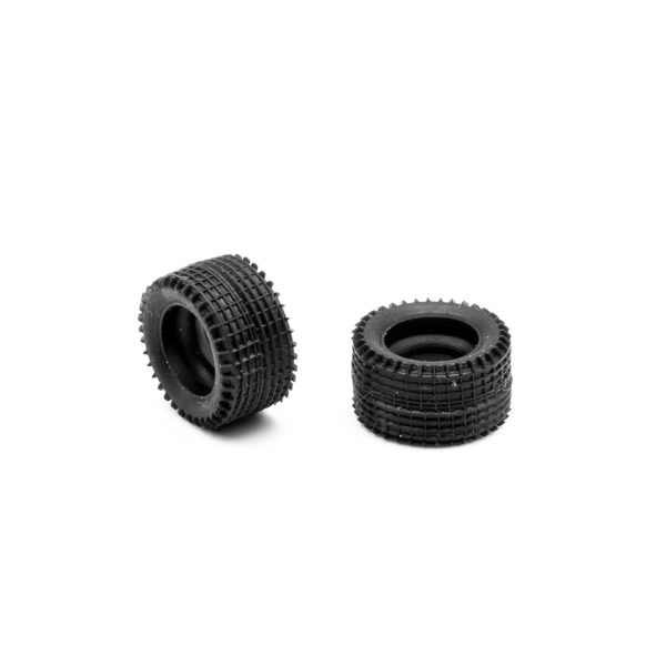 Front Slot Car Tires for Policar Super Molpen body 1:24