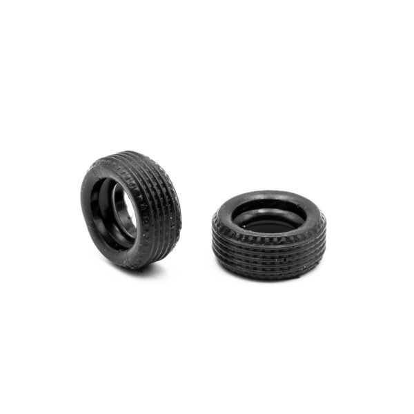 Front Slot Car Tires for F1 Fixed Wheels 60s Policar 1:32
