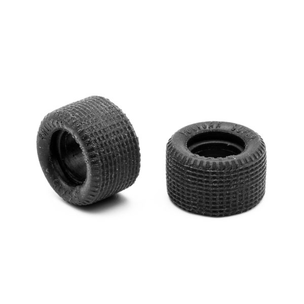 Rear Slot Car Tires for Policar Super Lexan Body 1:24
