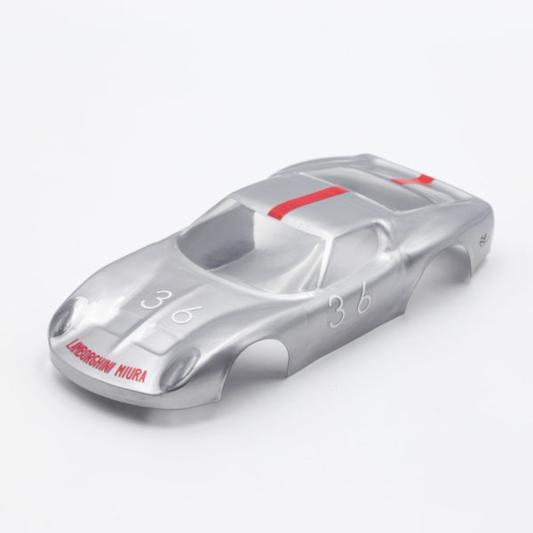 Slot Car Body Lamborghini Miura P400 1/24