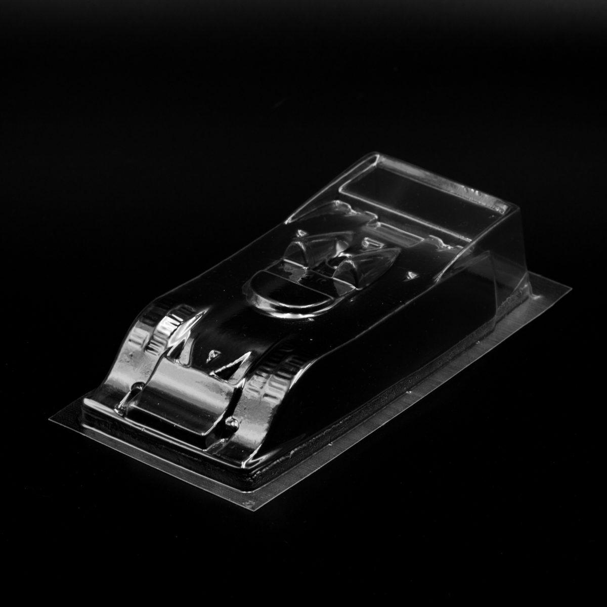 Carrozzeria per Slot Car Porsche 917-10 CAN AM 1/32 Trasparente Replica Minidream