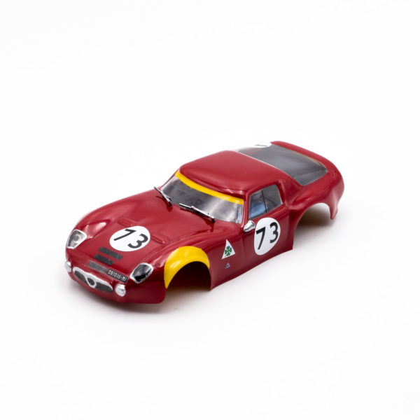 Slot Car Body Alfa Romeo TZ2 1/24 UNICAR